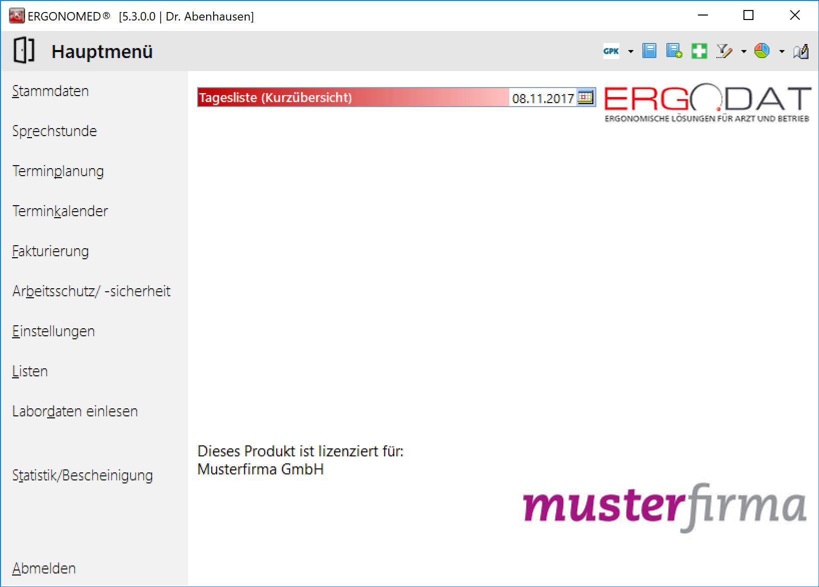 ERGODAT GmbH - ERGONOMED